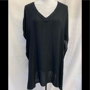 O'NEILL Swimsuit Cover-up Sheer Black